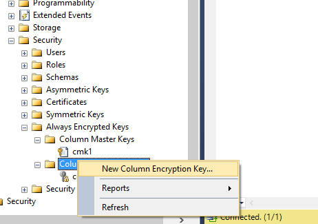 Provisioning Always Encrypted in SQL Databases with Azure